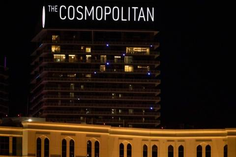 The Cosmopolitan of Las Vegas is seen in this Dec. 16, 2019, file photo. Las Vegas police were ...