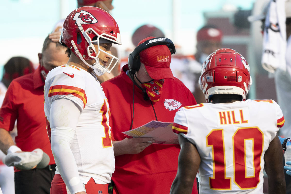 Chiefs Will Earn Top Seed With Win Over Falcons Las Vegas Review Journal