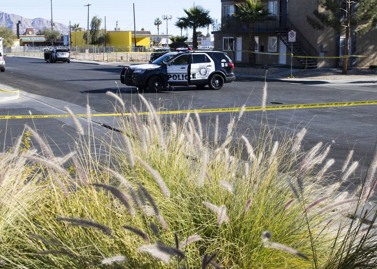 Man Fatally Shot In Central Las Vegas Identified Las
