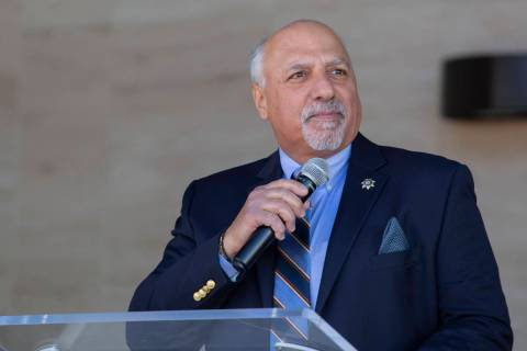 Las Vegas City Councilman Stavros Anthony (Elizabeth Page Brumley /Las Vegas Review-Journal) @e ...