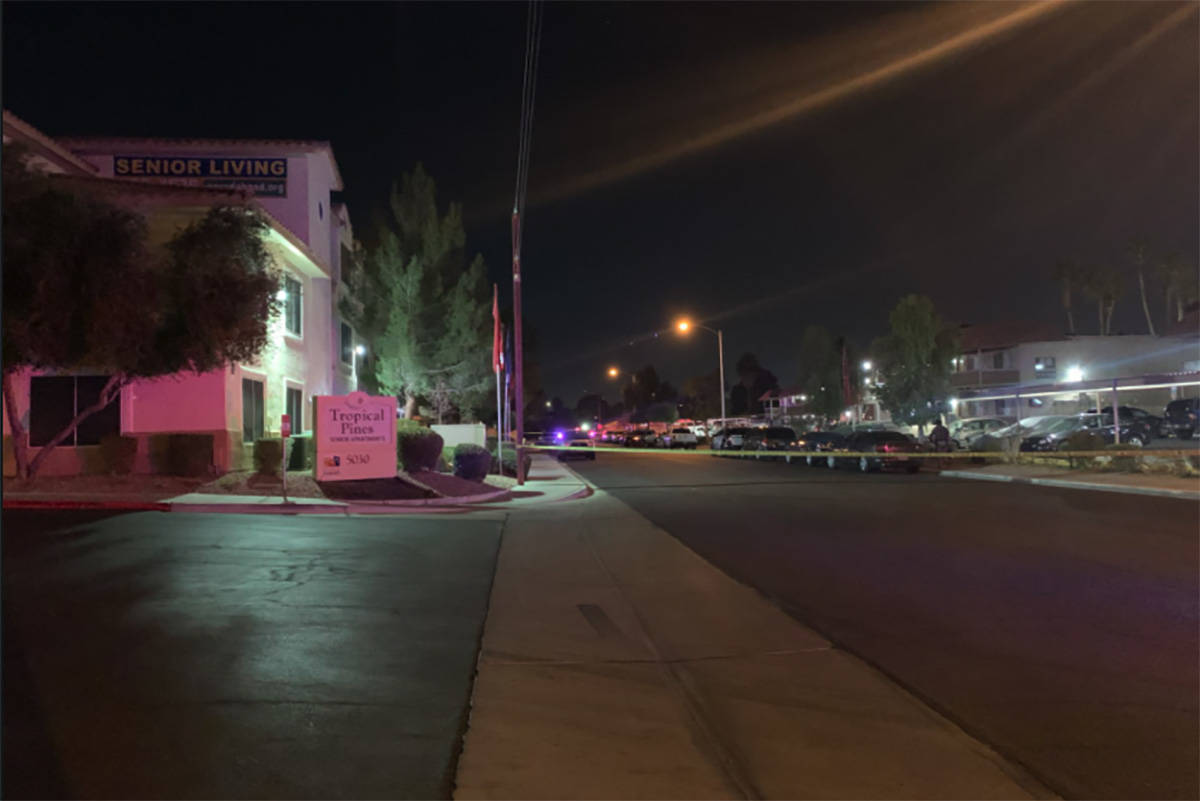 Las Vegas police are investigating a Friday night homicide on the 5000 block of Jeffreys Street ...