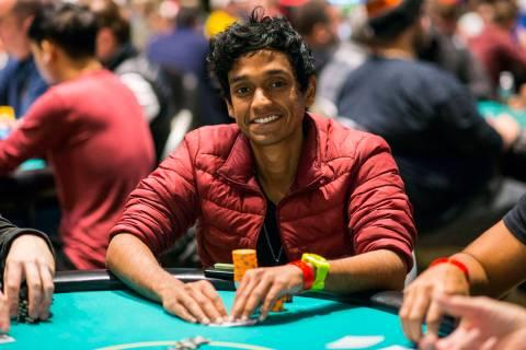 Upeshka De Silva, shown at the Borgata in Atlantic City in 2019, will not play at the final tab ...