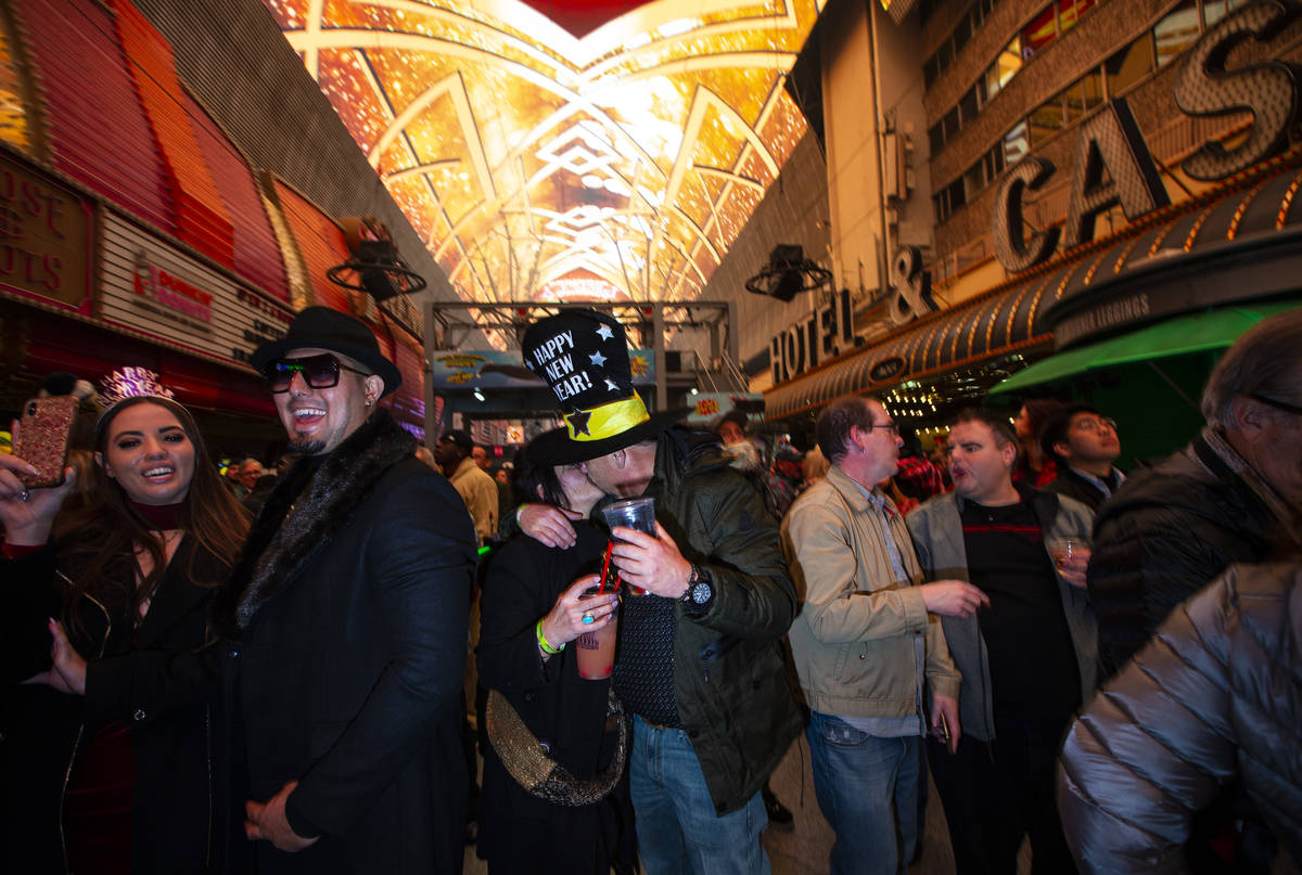 Fremont Street Experience New Year's Eve plans raise COVID safety concerns