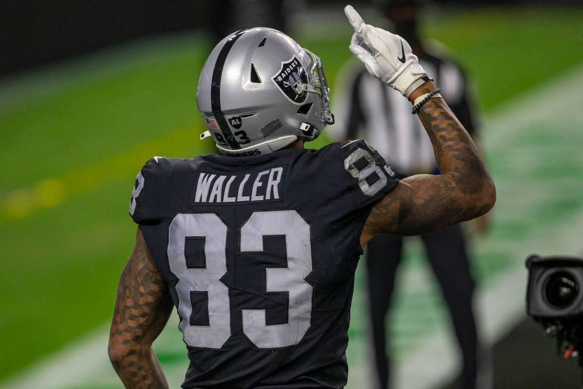 Darren Waller closes in on Tim Brown reception record   Las Vegas Review-Journal