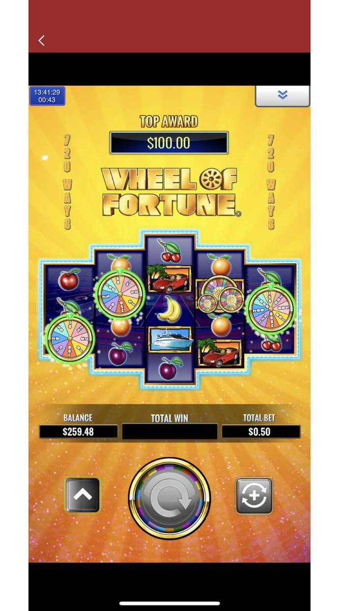 A still of Hollywoodcasino.com's Wheel of Fortune online game. (Penn National Gaming)