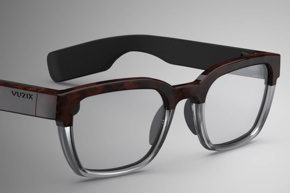 Vuzix's Next Generation Smart Glasses connect to smart phones to offer wearers hands-free con ...