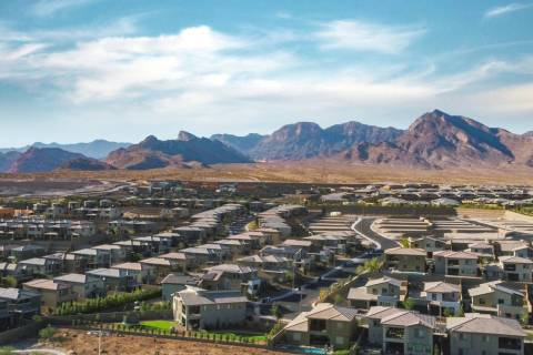 Summerlin has retained its No. 3 ranking nationally for 2020 based on new home sales, according ...