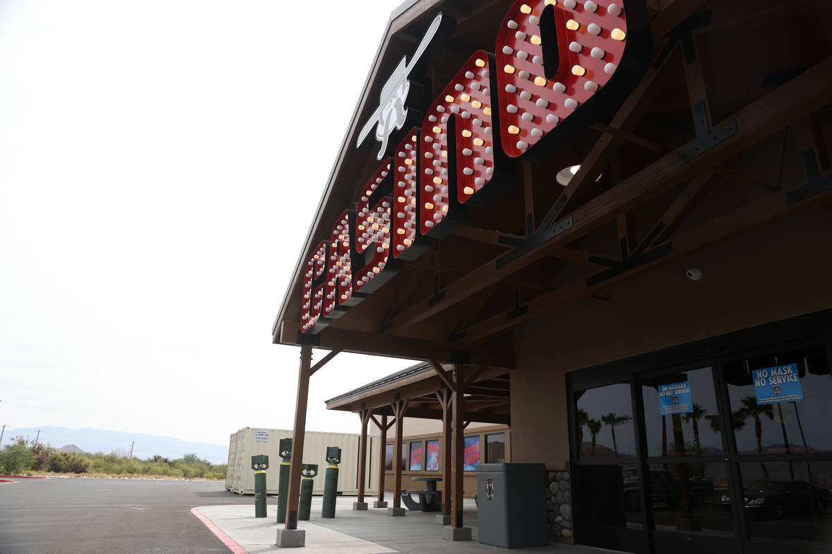 Terrible Herbst Casino in Indian Springs, Friday, Sept. 11, 2020. (Erik Verduzco / Las Vegas Re ...