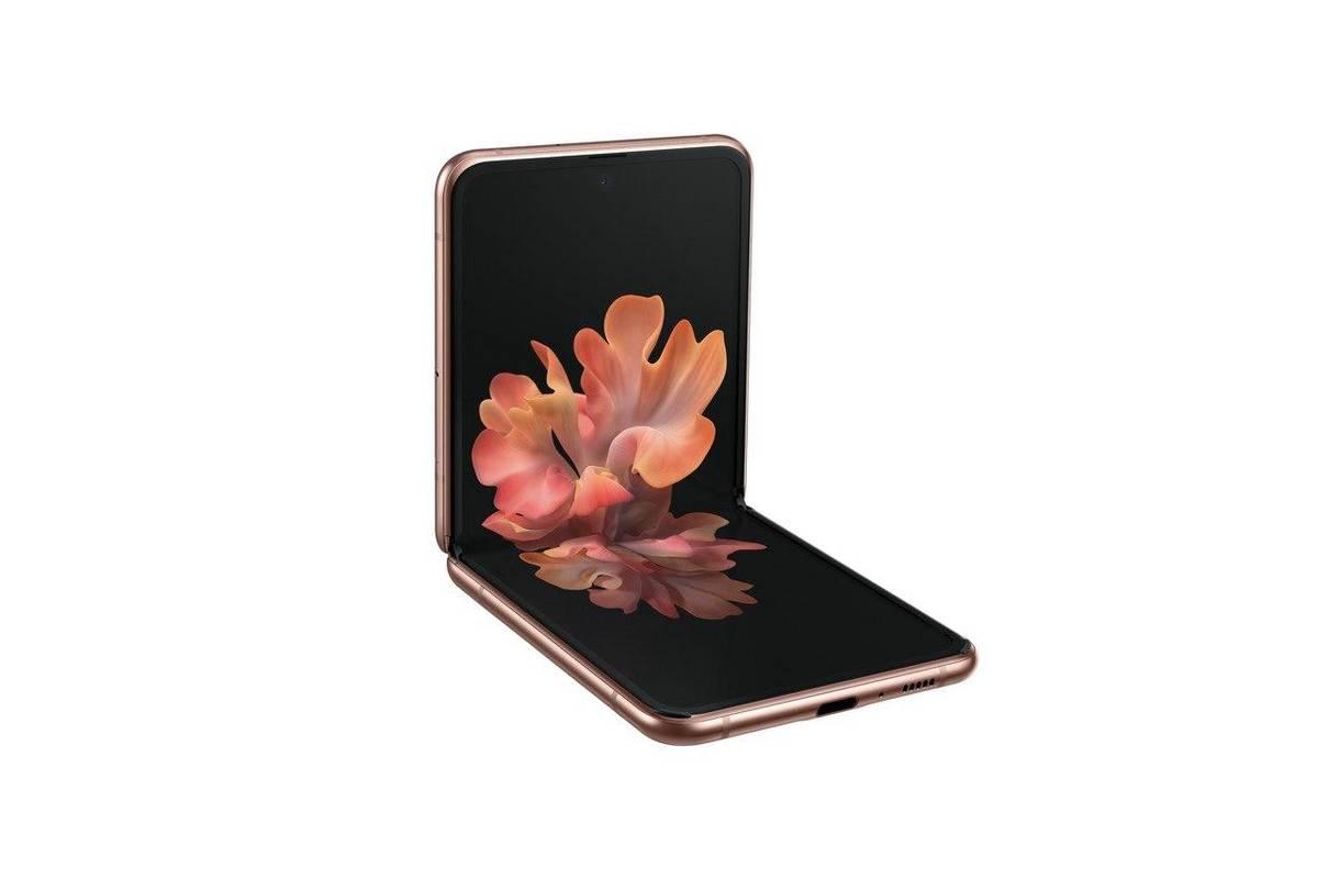 The Samsung Galaxy Z Flip 5G. (Courtesy, Samsung Electronics)