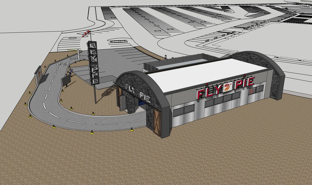 An overview of Fly Pie, scheduled to open in Henderson in April. (Fly Pie)