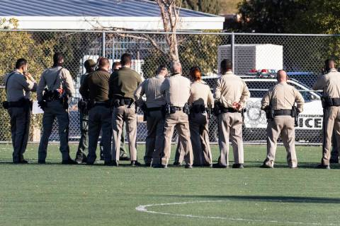 The Metropolitan Police Department is investigating after LVMPD dispatch received a report from ...