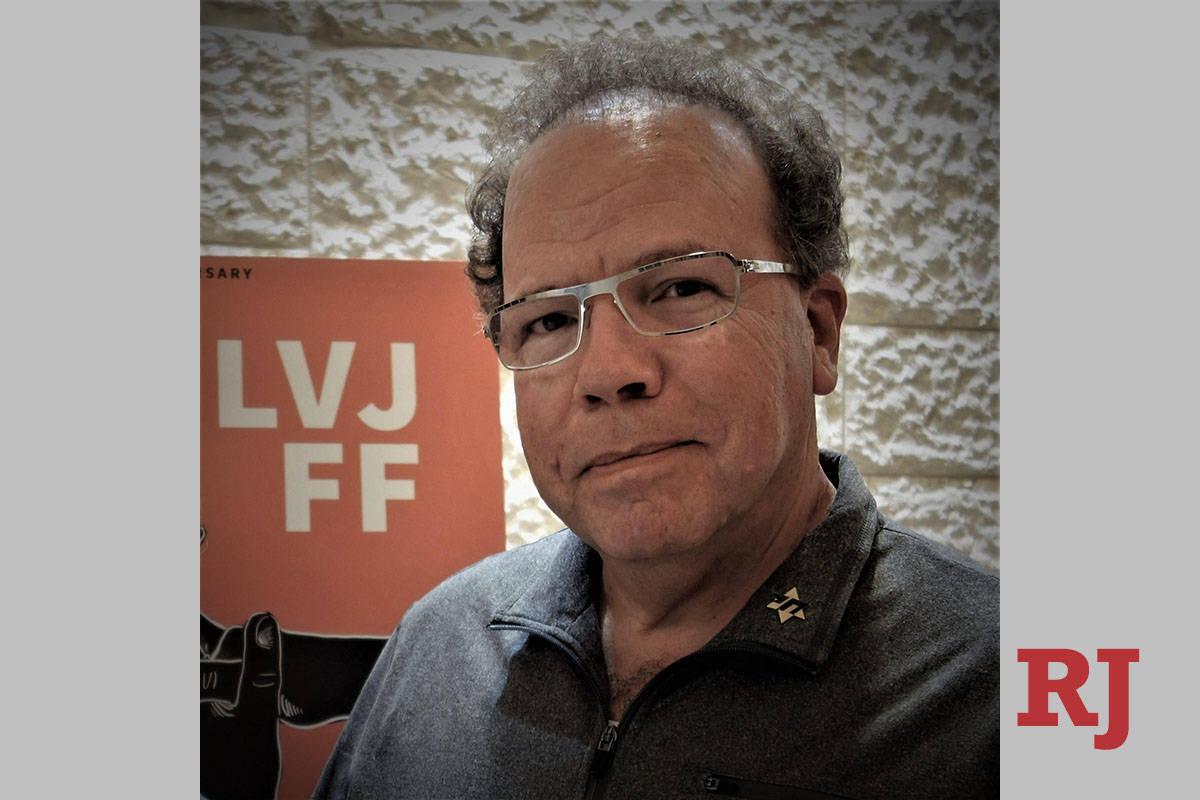Joshua Abbey, founder of the Las Vegas Jewish Film Festival. (Provided by Joshua Abbey)