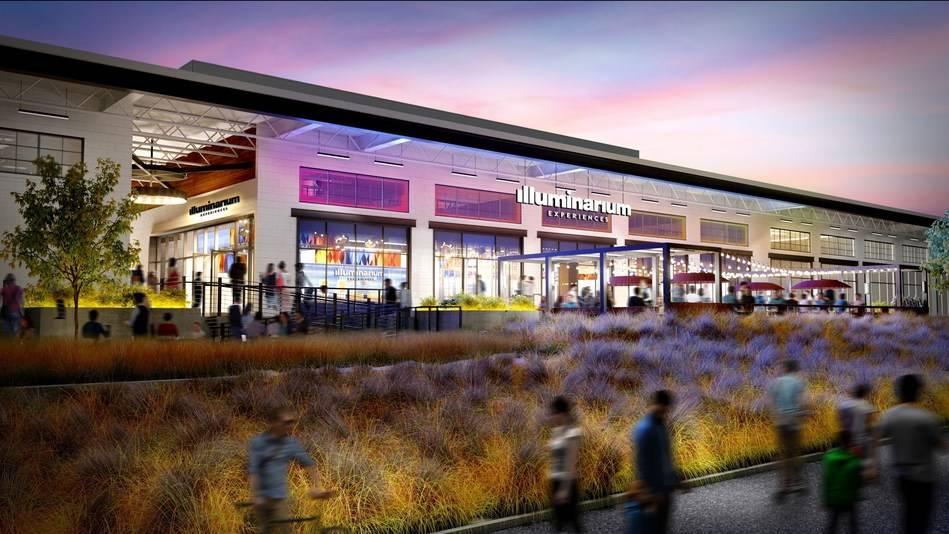 Renderings of the upcoming Illuminarium venue in Atlanta. (Courtesy, Panasonic Corp. of North A ...