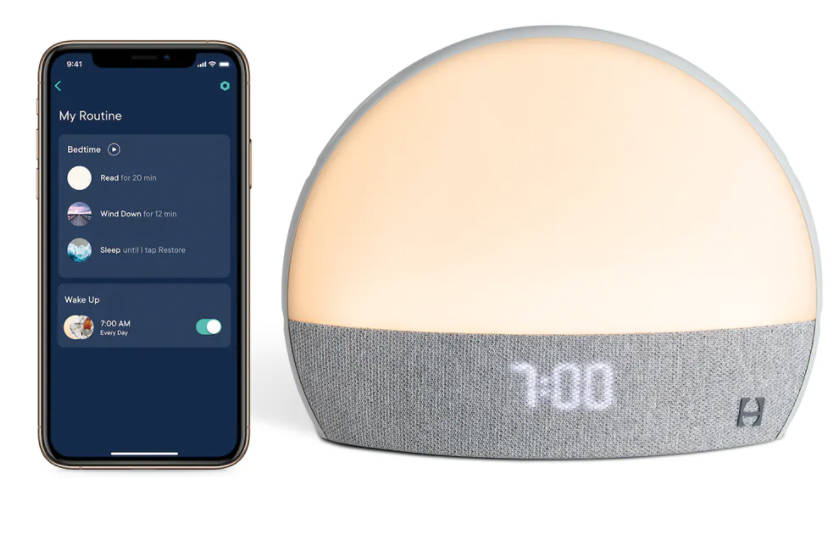 A featured product at virtual Pepcom event. Restore by Hatch is a personalized sleeping device. ...