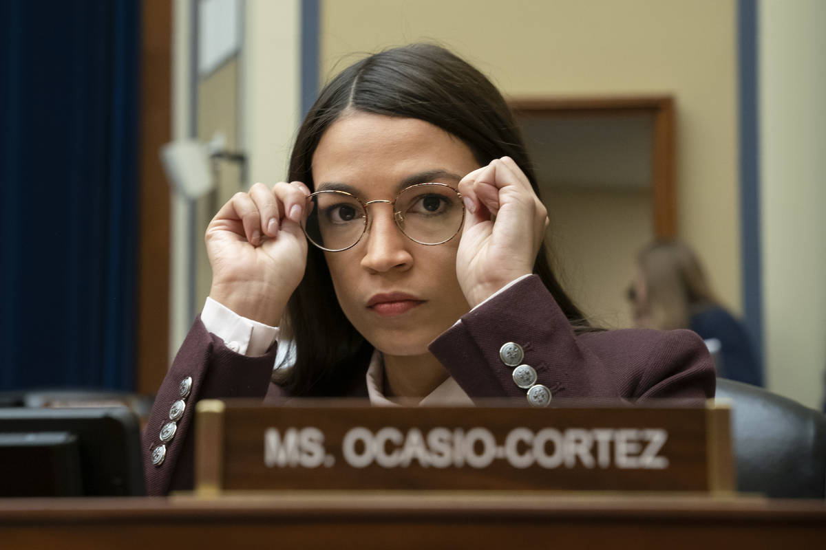 Rep. Alexandria Ocasio-Cortez, D-N.Y. (AP Photo/J. Scott Applewhite)