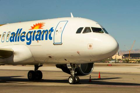 Allegiant Air will kick off a new nonstop route from Las Vegas' McCarran International Airpor ...