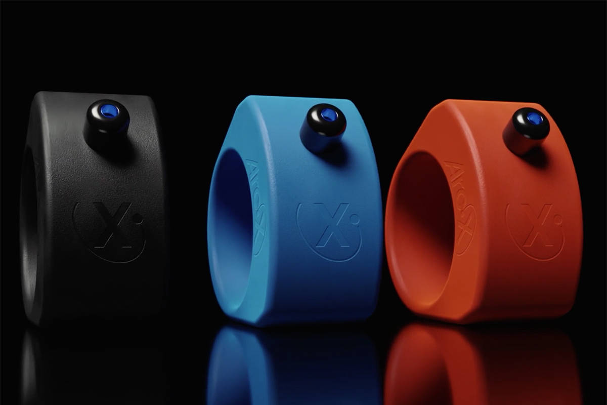 ArcX's Sports Ring, a wearable fitness joystick for timing splits, changing music and ot ...