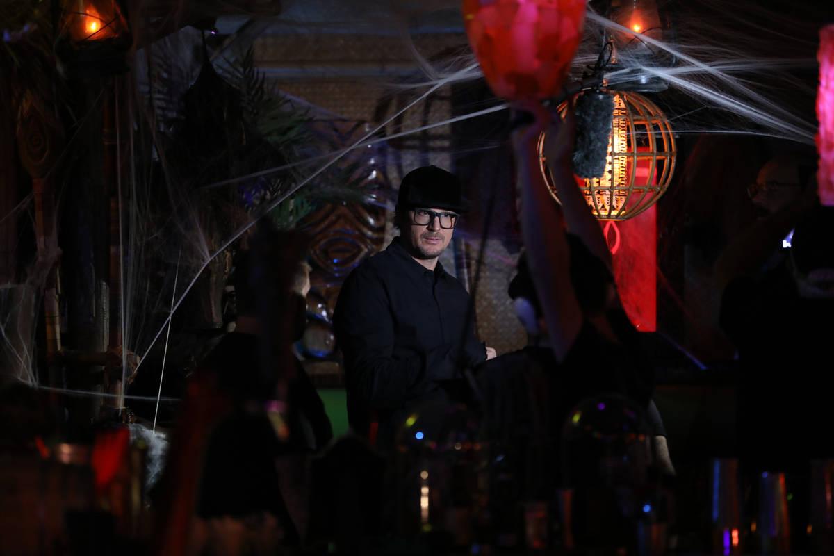Zak Bagans investigates The Golden Tiki in Las Vegas for paranormal activity during an episode ...
