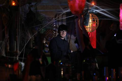 Zak Bagans investigates The Golden Tiki in Las Vegas for paranormal activity during an episode ...