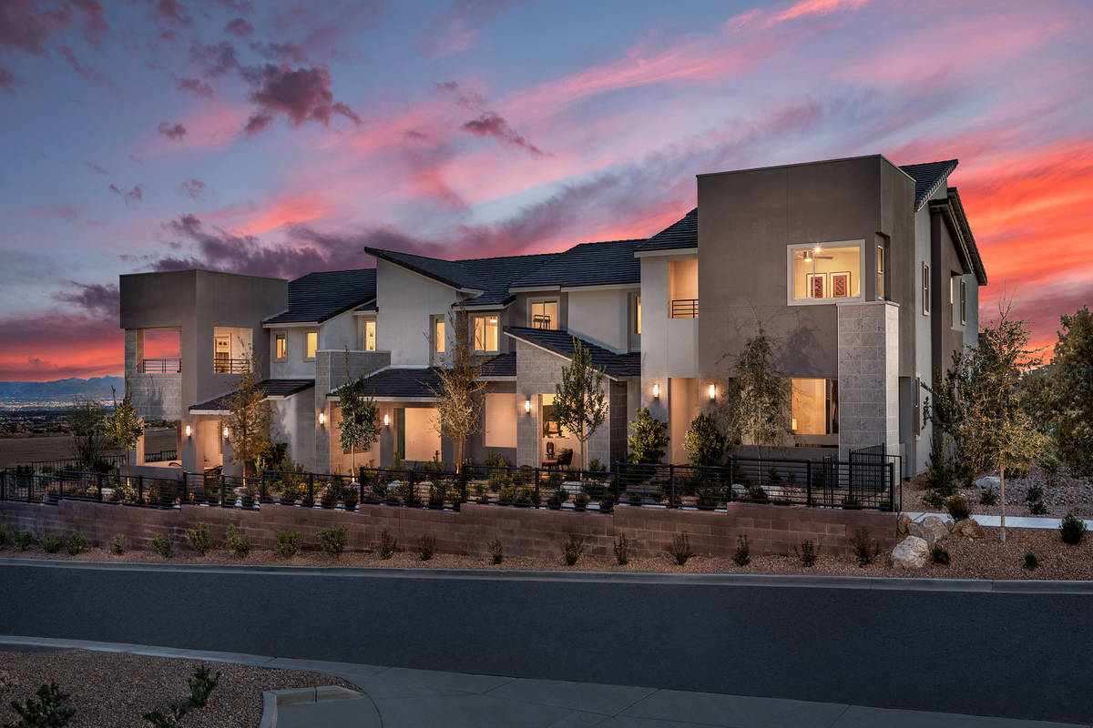 KB offers the Ascent, a new town home community in Summerlin. Homes are priced from $322,990. ( ...