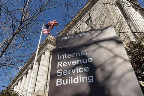 The Internal Revenue Service building in Washington. (AP Photo/Susan Walsh)