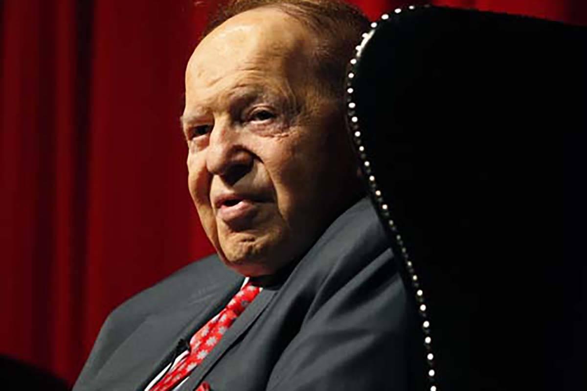 Sheldon Adelson. (Las Vegas Review-Journal file)