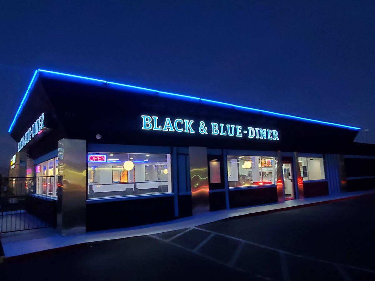 Vic Vegas' Black & Blue Diner will serve breakfast, lunch and dinner. (Black & Blue Diner)