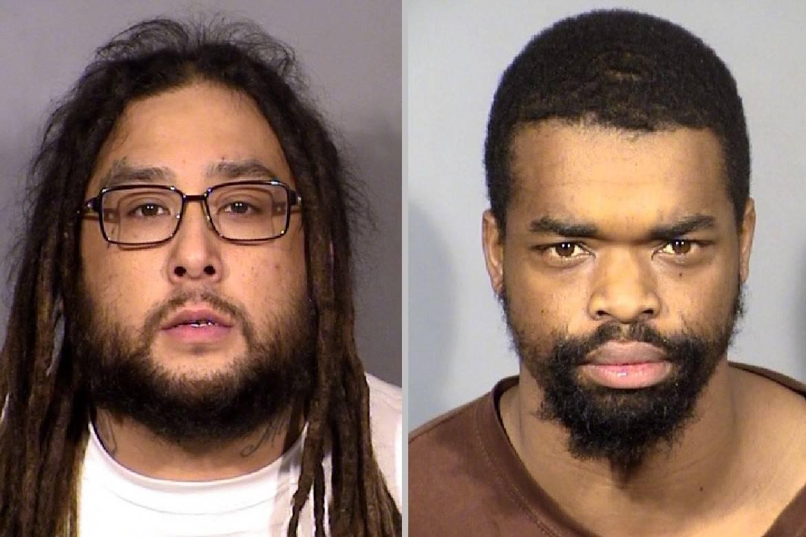 Antonio Ricardo Cruz, left, and Melvin McHenry. (LVMPD)