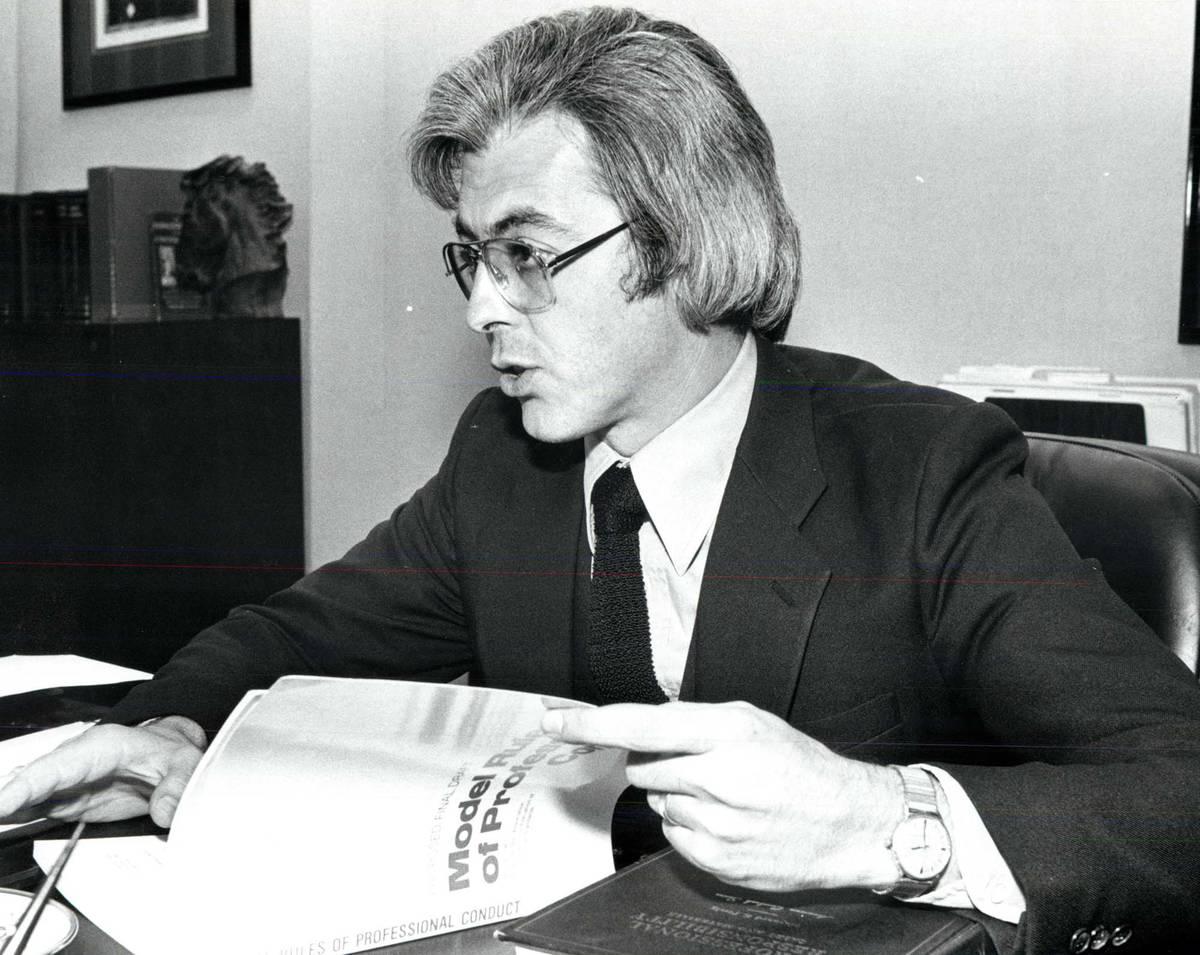 Bill Terry, in 1985 (Las Vegas Review-Journal)