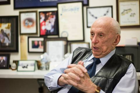Jeweler Jack Weinstein, who opened Tower of Jewels in 1964, is interviewed ahead of his slated ...