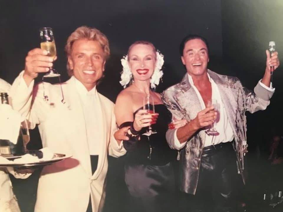 """Lynnette Chappell, the """"Evil Queen"""" in Siegfried & Roy's stage show throughout their careers, i ..."""