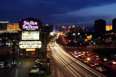 Affinity Gaming operates the off-Strip Silver Sevens. (Las Vegas Review-Journal)