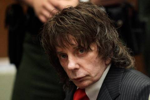 FILE - In this May 29, 2009 file photo, music producer Phil Spector sits in a courtroom for his ...