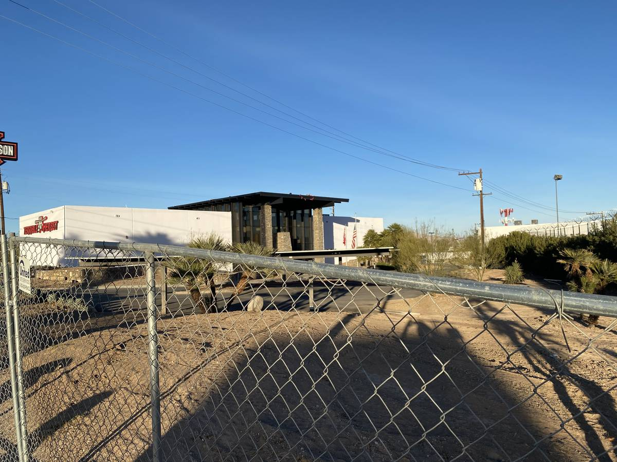 A look at the new Terrible Herbst on Las Vegas Boulevard South, just across from the Welcome to ...
