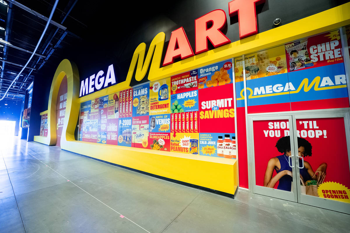 Omega Mart in Las Vegas will have plenty in store for experience seekers. (Meow Wolf)