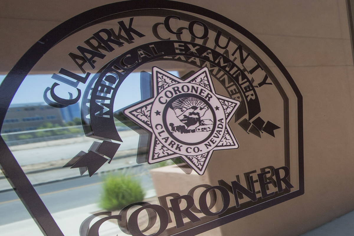 The Clark County Coroner and Medical Examiner office located at 1704 Pinto Lane in Las Vegas. ( ...