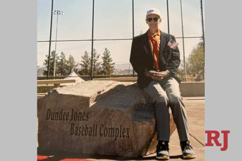 The Burkholder Park baseball fields in Henderson were officially named the Dundee Jones Basebal ...