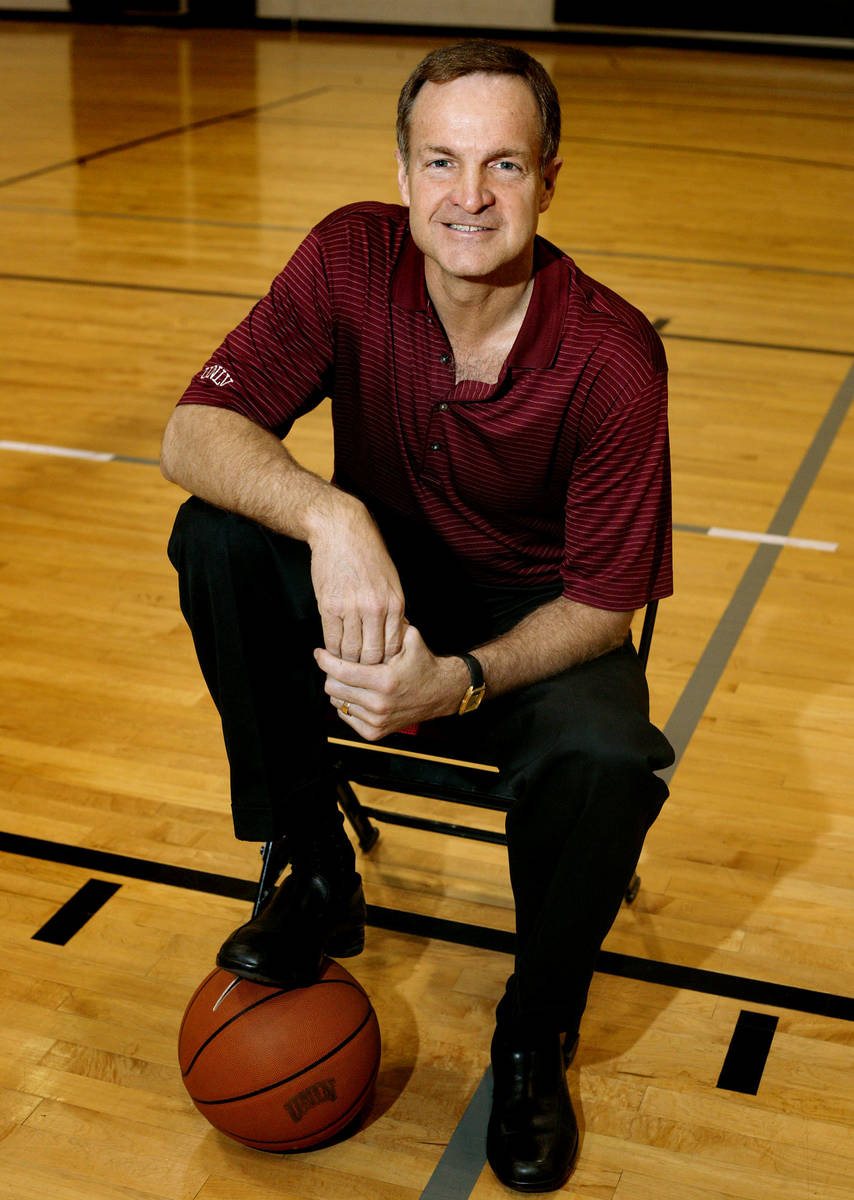 Former UNLV basketball head coach Lon Kruger has purchased a part-time home in Southern Highlan ...
