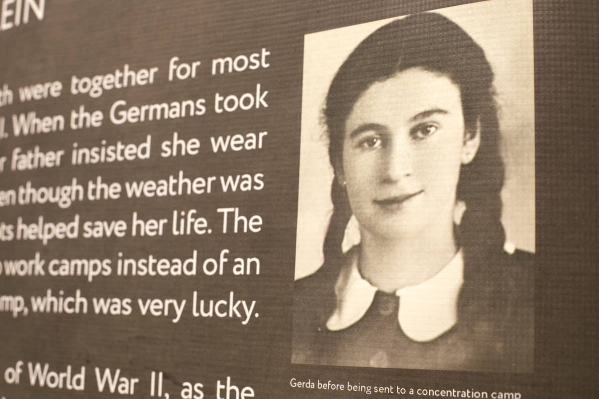 The ҈ow Did you Survive?Ӡexhibit showcasing survivors of the Holocaust and their st ...