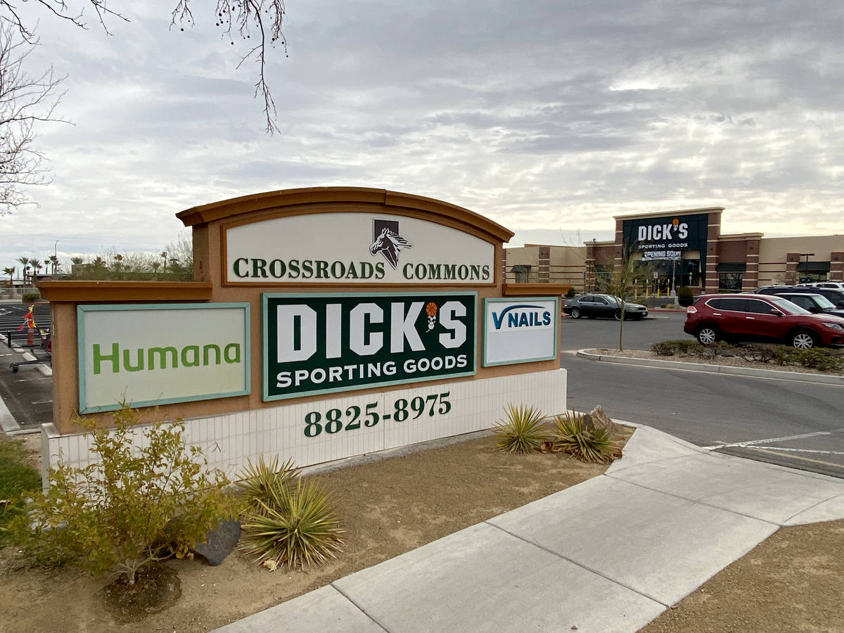 Crossroads Commons, a Las Vegas strip mall at the southeast corner of Charleston Boulevard and ...