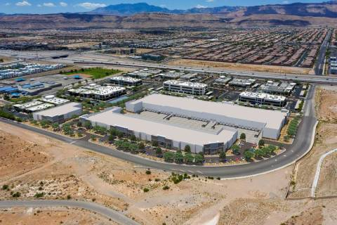 Developer CapRock Partners plans to build a 230,000-square-foot industrial park in the southwes ...