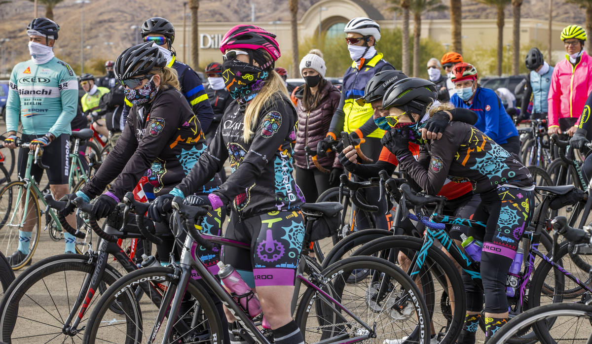 Some cyclists weep as friends and family gather to honor the five cyclists recently killed in S ...