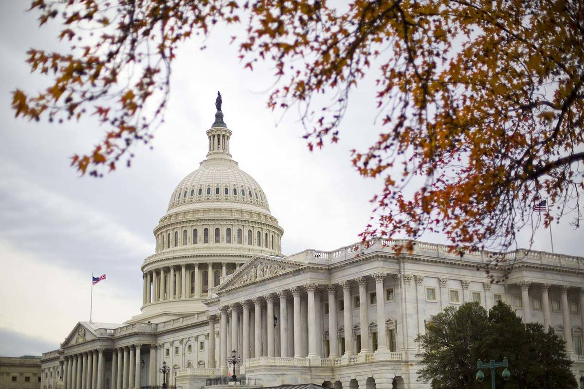 The Capitol Building as seen in Washington. (AP Photo/Pablo Martinez Monsivais)