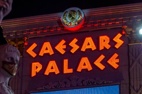 Caesars Palace (Ellen Schmidt/Las Vegas Review-Journal) @ellenschmidttt