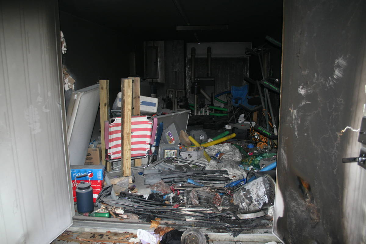 The scene of the house fire in New London, Connecticut, that ultimately led to Tony Hsieh's dea ...