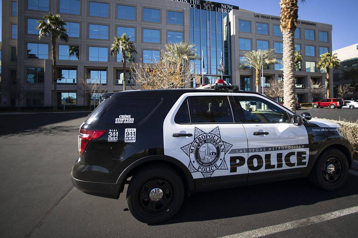 Las Vegas Metropolitan Police Department (Bizuayehu Tesfaye/Las Vegas Review-Journal) @bizutesfaye