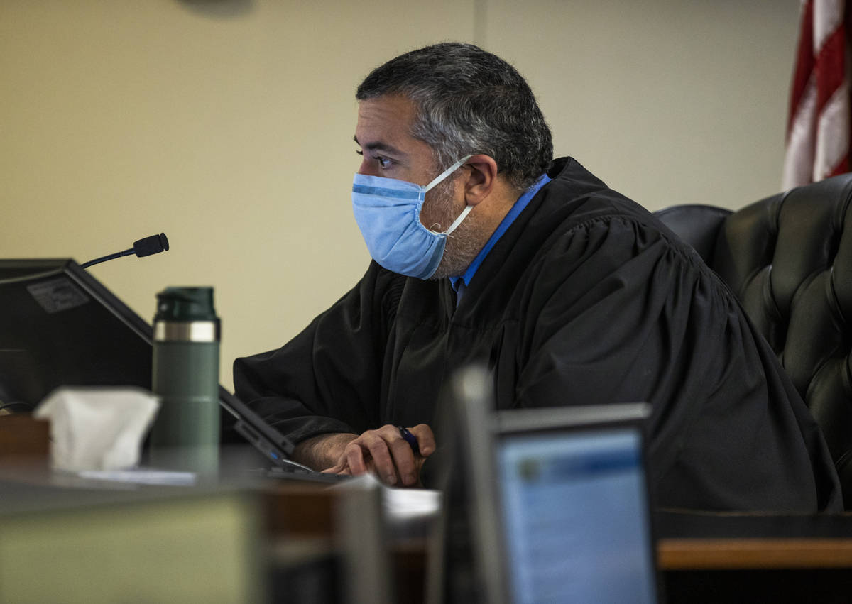 Judge Joe M. Bonaventure presides over the initial court appearance for Gabriel Hillery and Raf ...