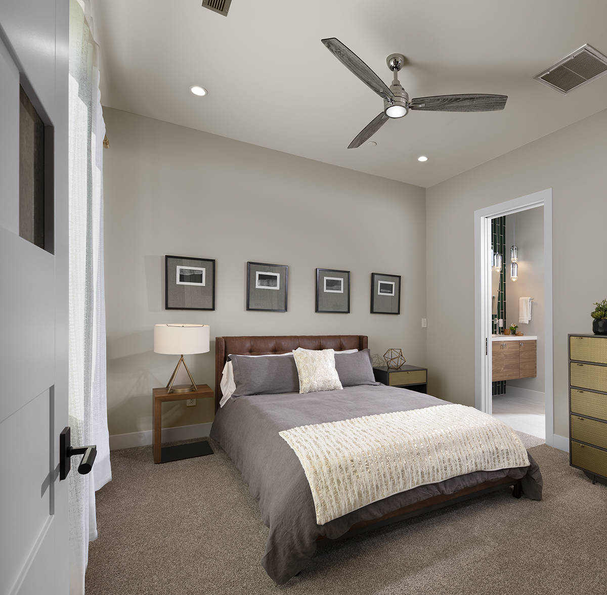 One of four bedrooms. (Sunstate Realty)