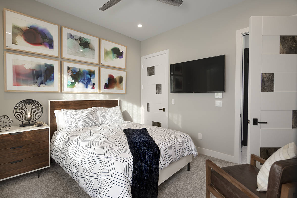 The home has four bedrooms. (Sunstate Realty)