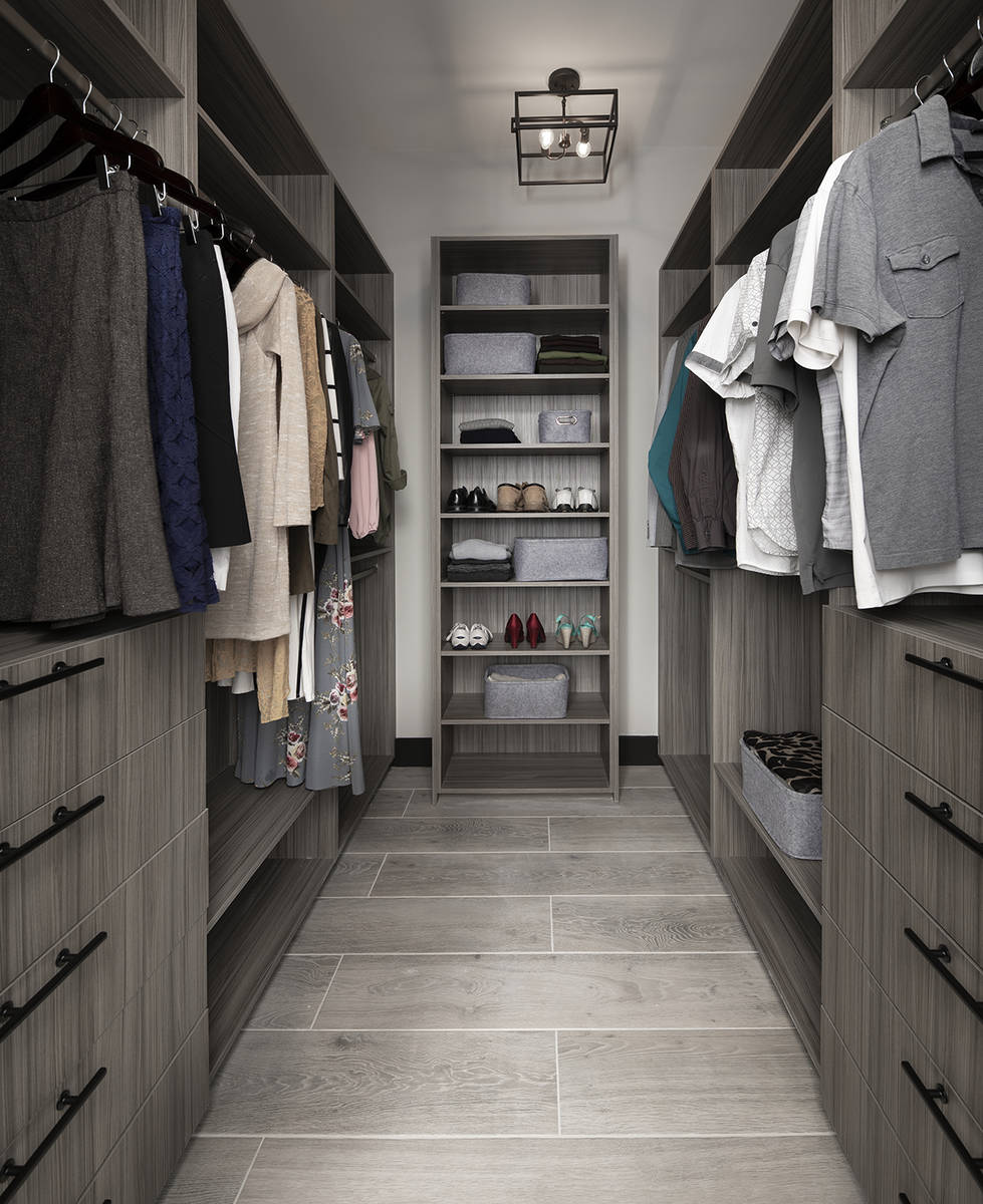 The closet. (Sunstate Realty)